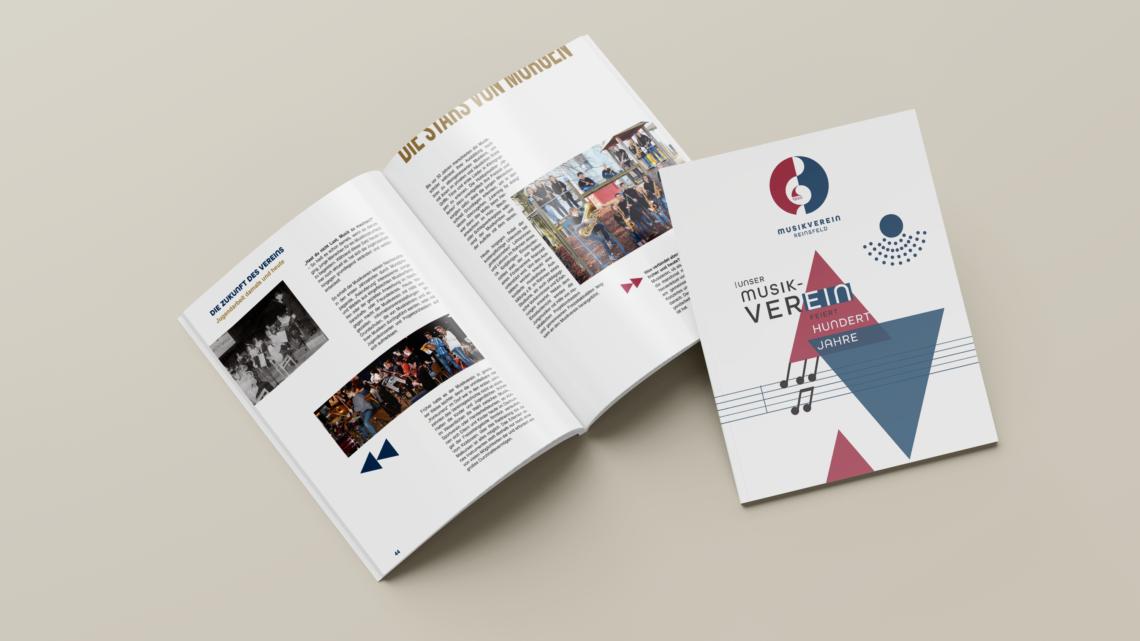 Jubiläumsbroschüre: Unser Verein feiert HUNDERTJAHRE